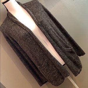 Sigrid Olsen Longline Sweater Jacket Size Large